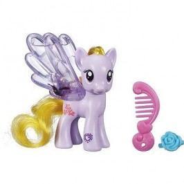 My Little Pony - Průhledný poník Lily Blossom s třpytkami a doplňkem