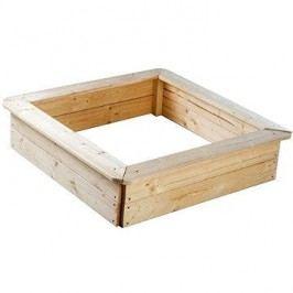 Dřevěné pískoviště 4 sezení