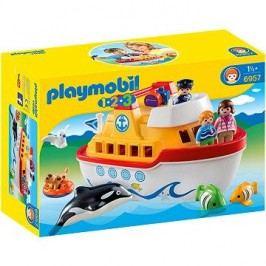 Playmobil 1.2.3 6957 Moje první přenosná loď