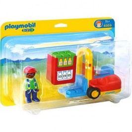 Playmobil 1.2.3 6959 Vysokozdvižný vozík