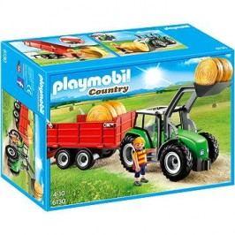 Playmobil 6130 Velký traktor s přívěsem