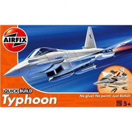 AirFix Quick Build J6002 letadlo – Eurofighter Typhoon