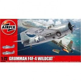 AirFix Model Kit A02070 letadlo – Grumman F4F-4 Wildcat