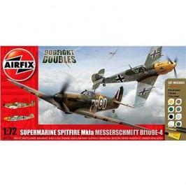 AirFix Gift Set A50135 letadlo – Supermarine Spitfire MkIa vs Messerschmitt Bf109E-4