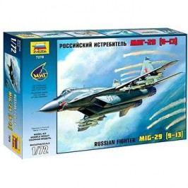Zvezda Model Kit 7278 letadlo – Russian Fighter MiG-29 (9-13)