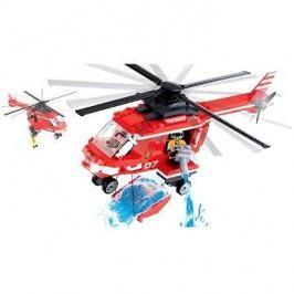 Cobi Action Town - Hasičská helikoptéra