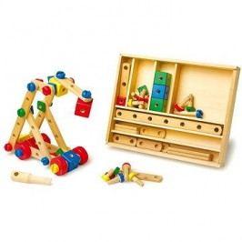 Dřevěná stavebnice konstrukční sada