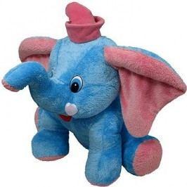 Slon Jumbo modrý 55cm