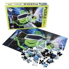Alza Puzzle 160 dílků - Mimozemšťan Alza ve VR