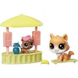 Littlest Pet Shop Plážový bar s 2 zvířátky