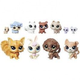 Littlest Pet Shop Velký sběratelský set 11 ks domácí mazlíčci