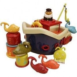 B-Toys Loď s kapitánem Fish & Splish