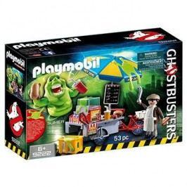 Playmobil 9222 Ghostbusters Slimer u stánku s hotdogy