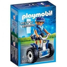 Playmobil 6877 Policistka na dvoukolce