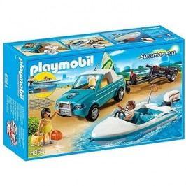 Playmobil 6864 Pickup surfaře s motorovým člunem