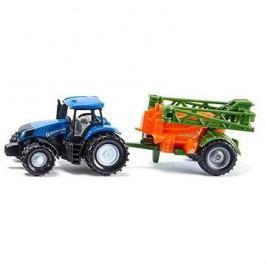 Siku Super – traktor s přívěsem na rozprašování hnojiva