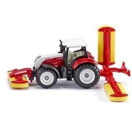 Siku Blister – Traktor Steyr se sekacími nástavci