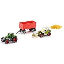 Siku Super – Set zemědělská vozidla + obilí