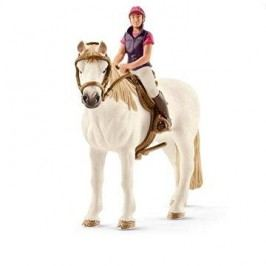 Schleich Rekreační jezdkyně na koni
