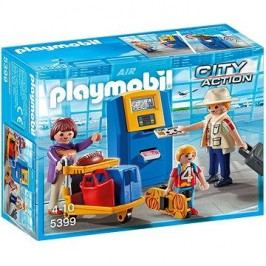 Playmobil 5399 Rodina u check-in kiosku