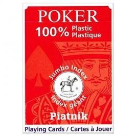Piatnik 100% Plastic poker velký index