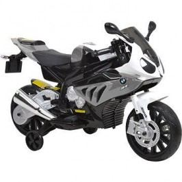 Dětská motorka BMW – bílo-šedivá