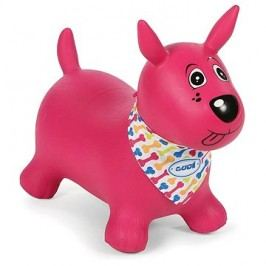 Ludi Skákací pes růžový