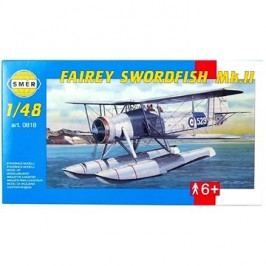 Směr Model Kit 0818 letadlo – Fairey Swordfish Mk.II