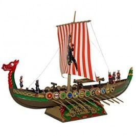 Směr Model Kit 0902 loď – Vikingská loď DRAKKAR