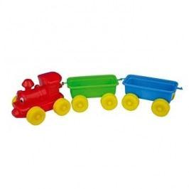 Teddies Vlak + 2 vagóny
