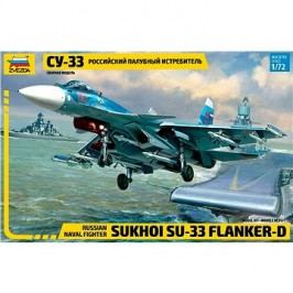 Zvezda Model Kit Z7297 letadlo – Sukhoi SU-33 Flanker D