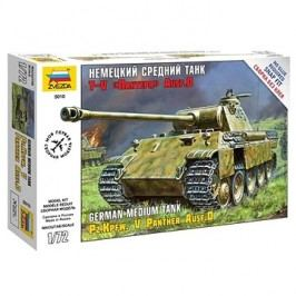 Zvezda Snap Kit Z5010 tank – Panzerkampfw.V Panther Ausf.D