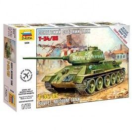 Zvezda Snap Kit Z5039 tank – T-34/85