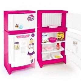 DOLU Dětská plastová lednička s mrazákem