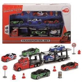 Dickie Autotransportér + 6 autíček