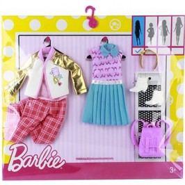 Mattel Barbie Dvoudílný set oblečení se vzorem