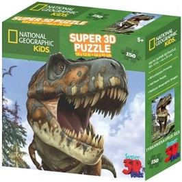 National Geographic 3D Puzzle T-Rex 150 dílků