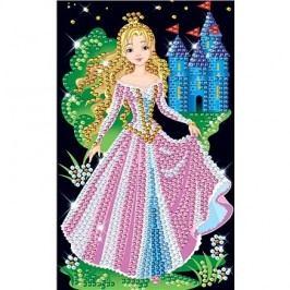 Obrázek z flitrů princezna