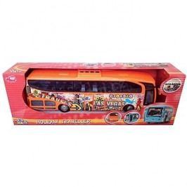 Dickie Autobus Holiday Traveller oranžový