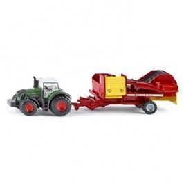 Siku Farmer - Traktor s vlekem na sklizeň brambor