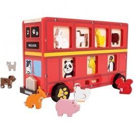 Bigjigs Autobus se zvířátky