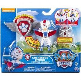Tlapková patrola Figurka s leteckými doplňky Ryder