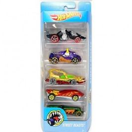Hot Wheels Angličáky 5 ks - Street Beasts