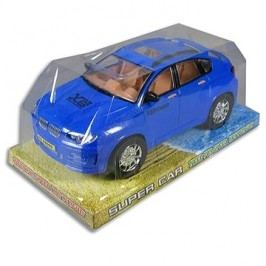 Auto na setrvačník modré