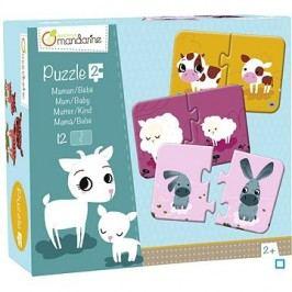 Avenue Mandarine Duo puzzle Maminka a mládě