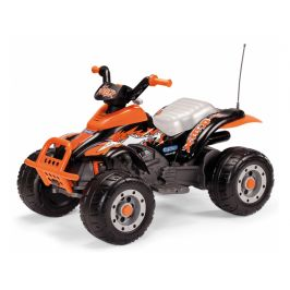 Peg Perego CORRAL T-REX black/orange (12V, 2 motory)