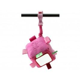 Label-Label Label-Label Stars Cube with clip Hrací kostka s klipem - Pink/Fuchsia