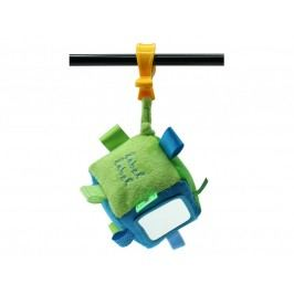 Label-Label Label-Label Stars Cube Hrací kostka s klipem - Blue/Green
