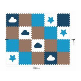 Vylen Minideckfloor podlaha 20 dílů - hvězda a mrak