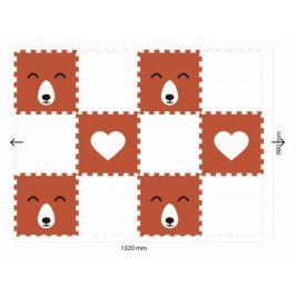 Vylen Minideckfloor podlaha 12 dílů - liška a srdce